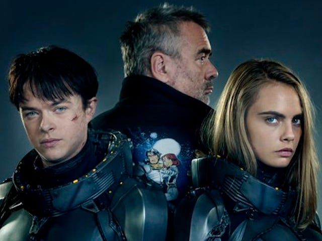 Luc Besson Shares the First Image From His Time-Traveling Space Epic Valerian
