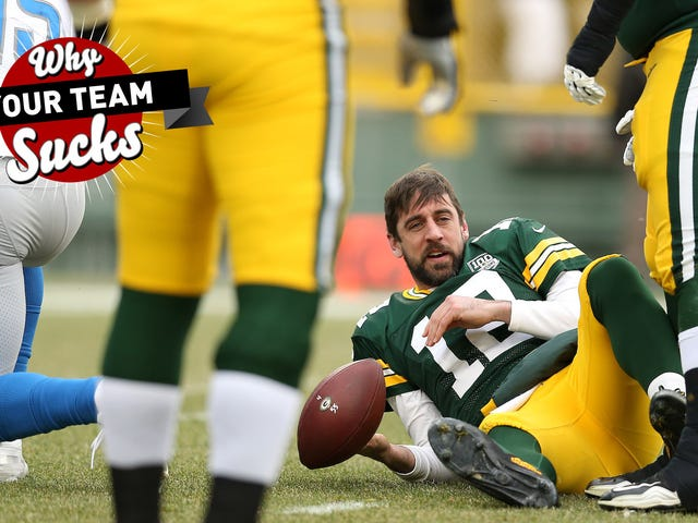 Por qué su equipo apesta 2019: Green Bay Packers
