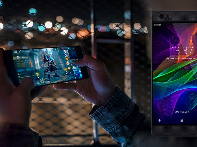 Razer's Making Gaming Phones Now