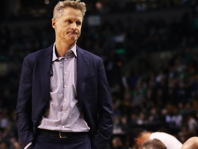 "Steve Kerr On LaVar Ball Coverage: ""If You Package That Irrational Nonsense With Glitter And Some Ribbon, People Are Going To Watch"""