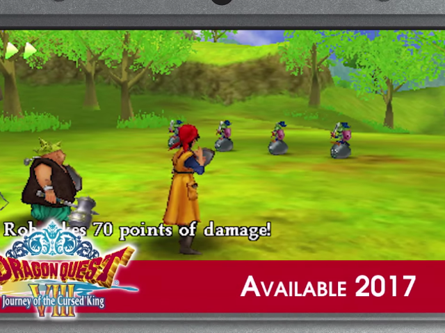 The 3DS re-release of Dragon Quest VIII, once expected for a late 2016 release will now be out in 20