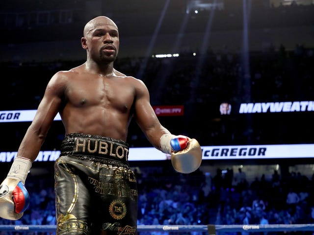 Floyd Mayweather Is the Highest Paid Celeb In the World