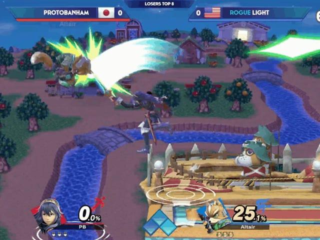 Если кто-то, кто не смотрит турнир EVO Super Smash Bros., почувствовал внезапную и необъяснимую волну