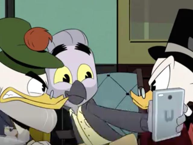 Meet Mark Beaks, DuckTales' New Tech Bro Villain