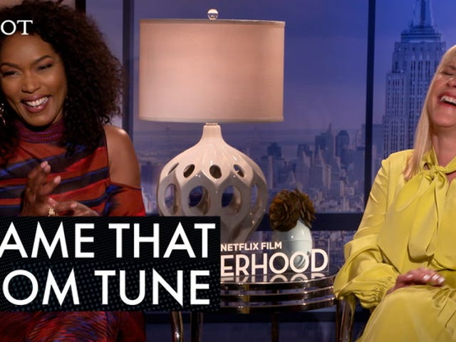 Angela Bassett and Patricia Arquette, Mama Said Name That Tune for Otherhood