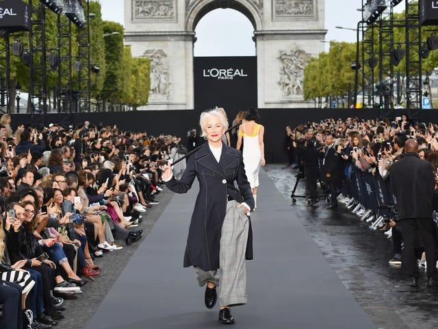 Look At Jane Fonda and Helen Mirren Killing It At Paris Fashion Week