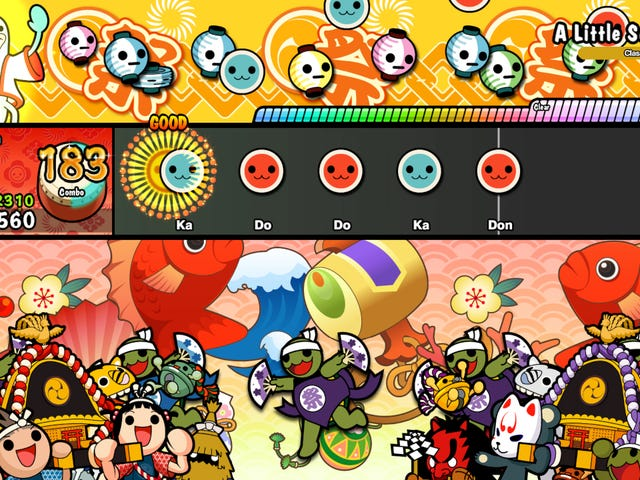 Both Switch And PS4 Versions Of Taiko No Tatsujin Are Fun In Different Ways
