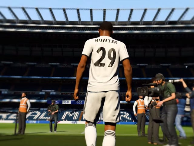 Real Madrid Are Selling Actual Alex Hunter Jerseys