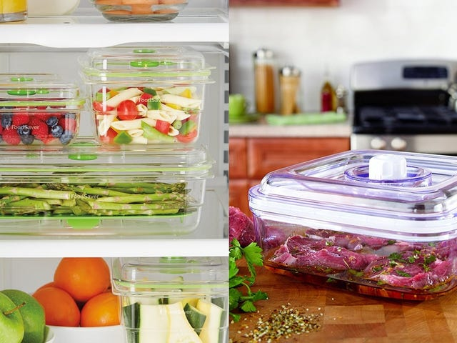 Skip the Bags and Pair Your FoodSaver With Discounted Vacuum Containers