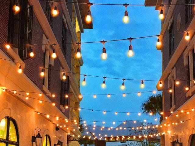 Class Up Your Outdoor Space With These Globe-Style LED String Lights