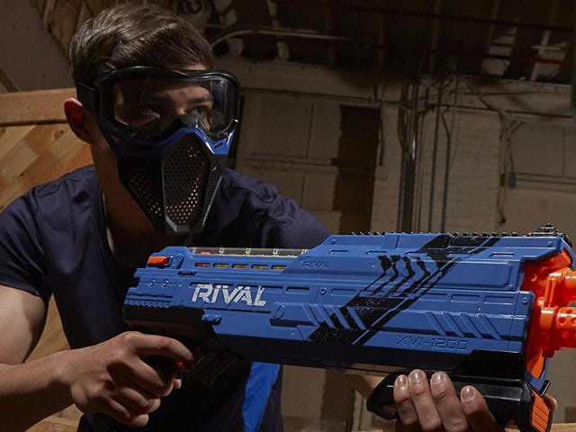 Lose Friends and Alienate People With This $20 Nerf Blaster