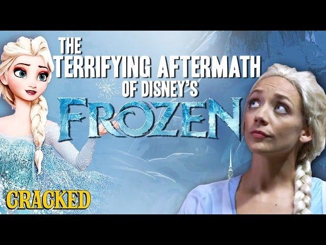 Cracked spiega come la vera scopata di Arundel sia dopo Frozen.