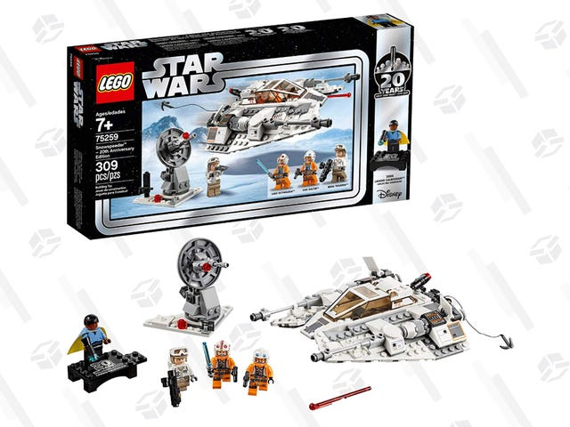 Celebrate 20 Years of Star Wars LEGOs With This $25 Snowspeeder Set