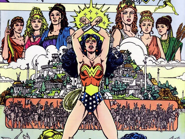 Who Does Wonder Woman Belong To?