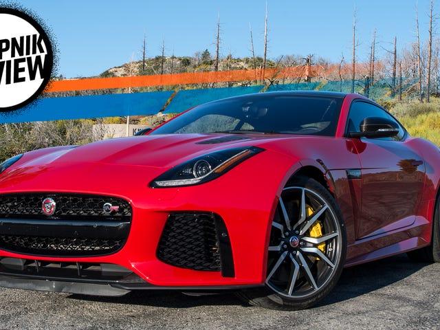 The 2017 Jaguar F-Type SVR Is A Mean Masterpiece