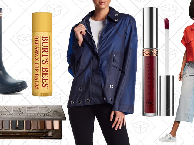 Today's Best Lifestyle Deals: Anthropologie, Sephora, Hunter, Burt's Bees, and More
