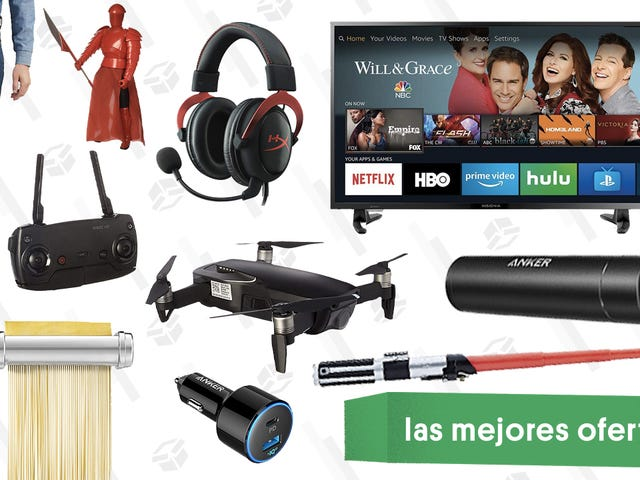 Las mejores ofertas de este lunes: Auriculares para jugadores, drone de DJI, juguetes de Star Wars y más