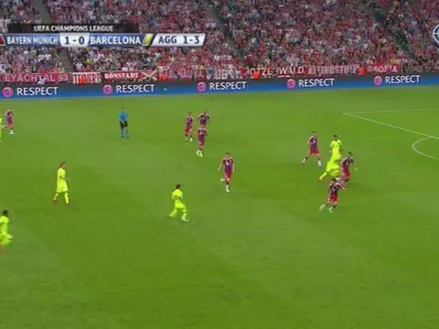 Requintado Lionel Messi Pass termina fora do Bayern de Munique