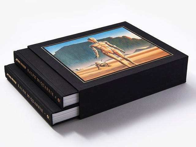Buy This 800 Page Star Wars Art Book, You Must