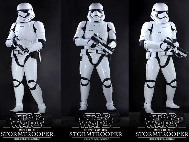 Den ultimata <i>Star Wars</i> Action-figuren är livs-stor och kostar $ 8 000