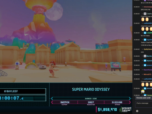Awesome Games Done Quick Ends with $2.3 Million Raised For Charity
