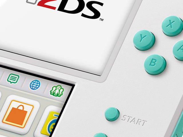 Well, At Least The 2DS Continues To Look Nice