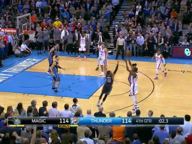 Kevin Durant Sinks Deep Three To Beat The Magic