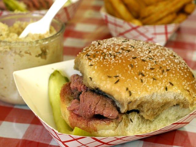 Sándwich del día: Carne de res en Weck