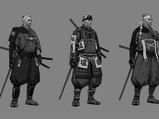 <i>The Witcher 3's </i>Creators Have Imagined Geralt As A Samurai