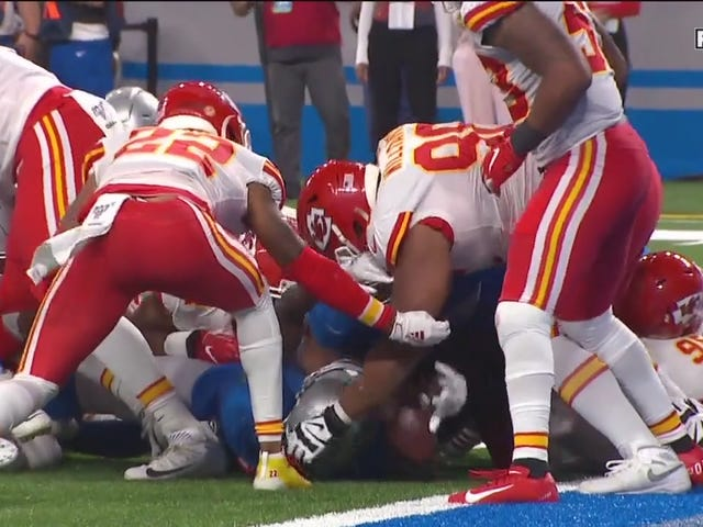 The Lions And Chiefs Could Not Hold On To The Damn Football