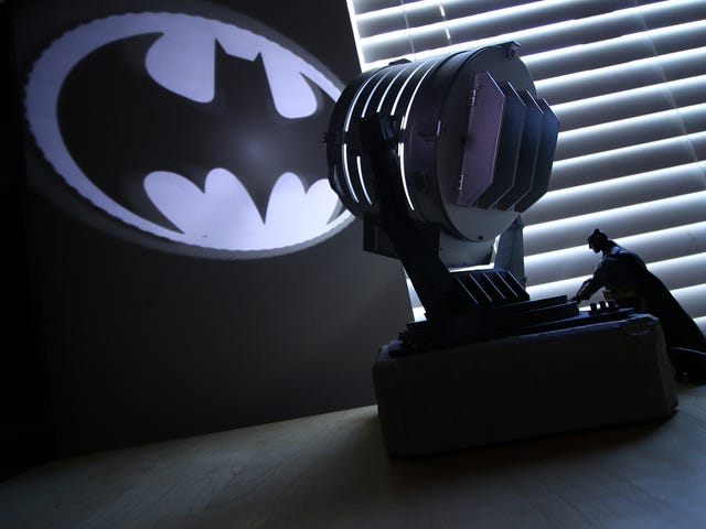 For Just $300 You Can Own A Tiny Bat-Signal (Batman Not Included)