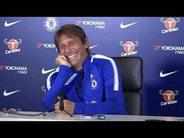 Menedżer Chelsea nie może przestać się śmiać na Diego Costa