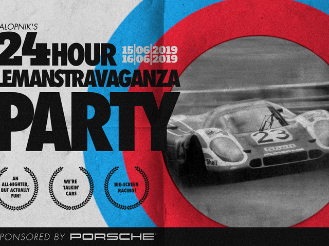 Bask In The Glory Of The Cars At Our Le Mans Party This Weekend