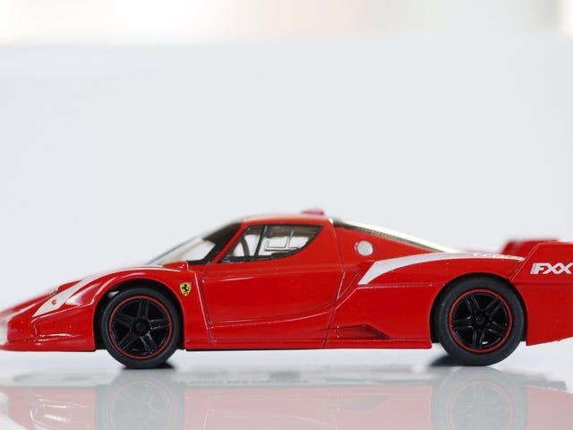 Kyosho Ferrari 6 1/64 # 53 - Project Prancing Horse # 53 - 2009 Ferrari FXX evolution