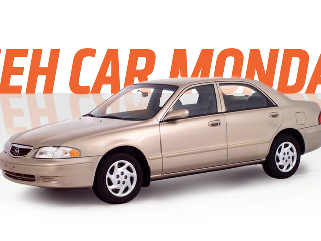 Meh Car Monday: The Mazda 626, When 'Zoom-Zoom' Was 'Yawn-Yawn'