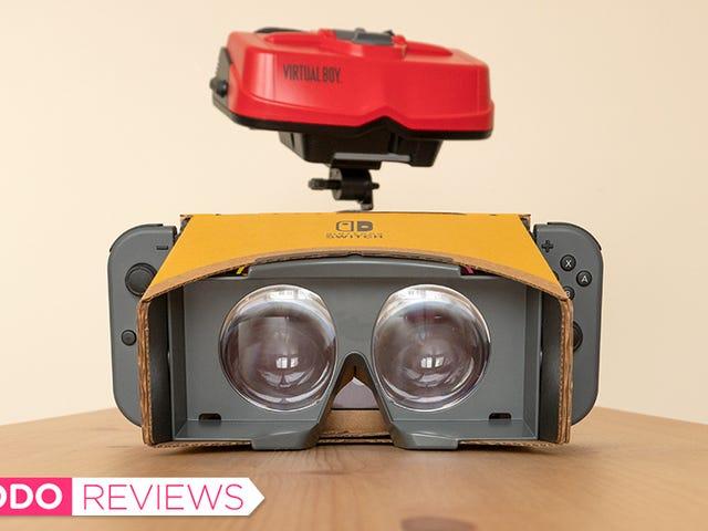 Labo VR Kit Nintendo перемикач є дешевим VR, що не смоктати