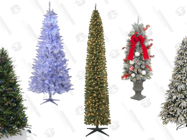 Which Christmas Tree Defines Your Personality? Decide, Then Take Advantage of Home Depot's 1-Day Sale.