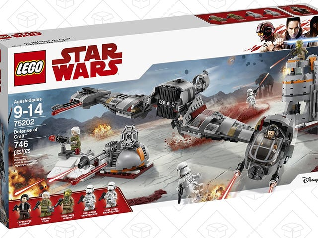 Relive The Battle of Crait for $68, Salt Not Included