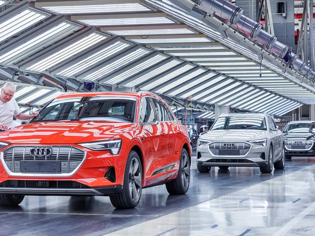 The Audi E-Tron Can't Catch a Break
