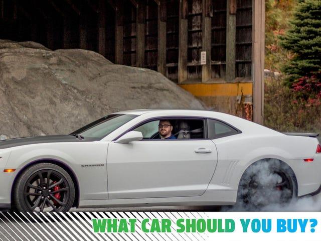 Ich möchte ein auffälliges Auto, das für 35.000 US-Dollar Burnouts auslöst!  Welches Auto soll ich kaufen?
