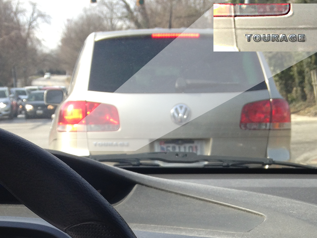 I Give You The Volkswagen Tourage