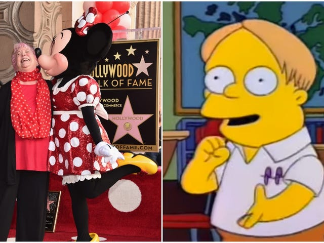 RIP Russi Taylor, suara Minnie Mouse dan The Martin Simpsons