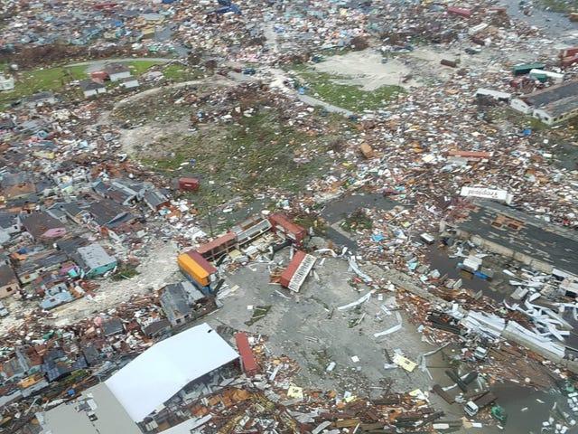 Nye luftopptak fra Bahamas etter orkanen Dorian er absolutt mageforvrengende