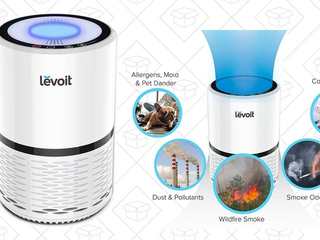 Breathe Easier With This Highly-Rated $58 Air Purifier
