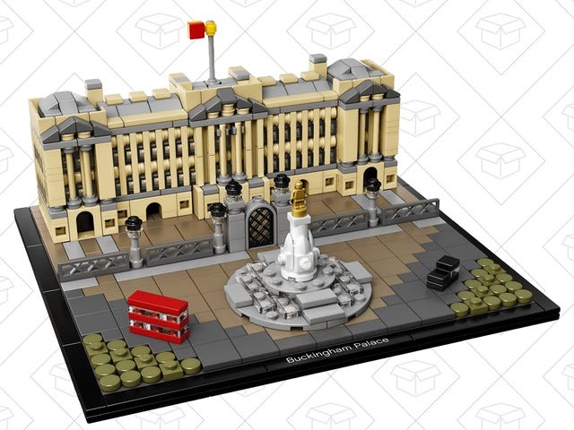 Keep Calm and Save on LEGO's Buckingham Palace Kit