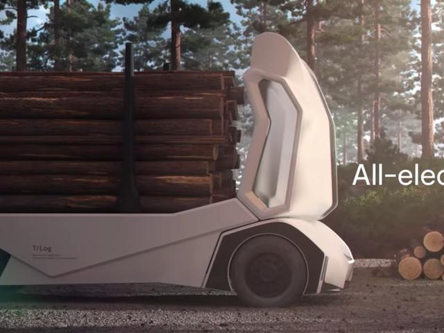 Endelig er der en selvstændig elektrisk trævogn