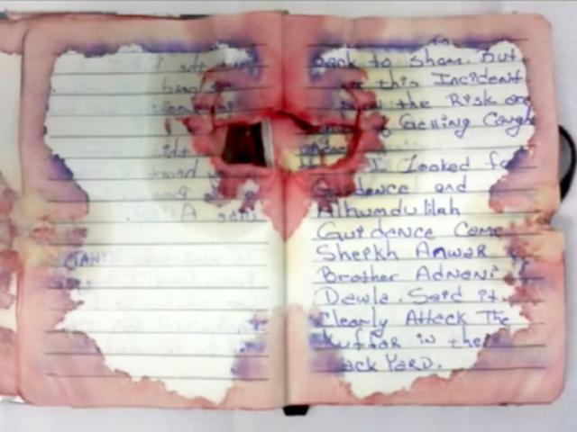 Il (presunto) NYC / NJ Bomber Ahmad Khan Rahami ha la calligrafia di una ragazza pre-teen?  Una investigazione.