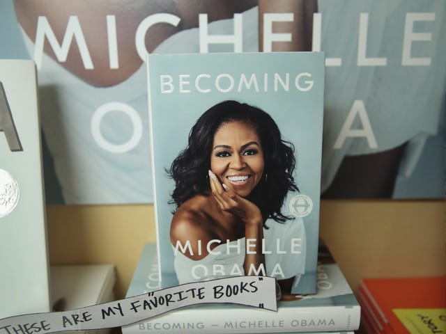 Love Her? Wear Her. Michelle Obama's Becoming Merch May Be Her Best Book Tour Investment