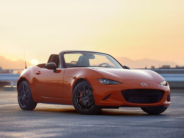 Mazda Gives 143 U.S. Buyers Another Chance at the 30th-Anniversary Miata