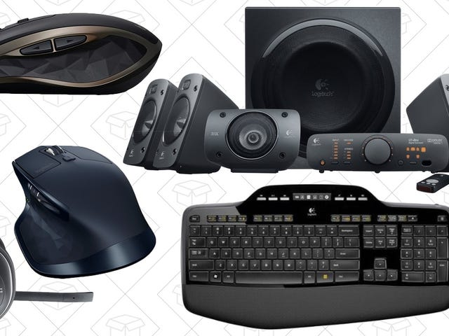 Upgrade Your Mouse, Speakers, and More From Amazon's One-Day Logitech Sale